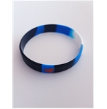Leather Pride Silicone bracelet