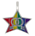 Gay Pride star Necklace
