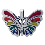 Rainbow Butterfly Neacklace