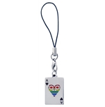 Male Heart Phone Strap