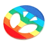 Rainbow Peace Symbol Patch