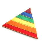 Rainbow Triangle Patch