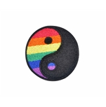 Rainbow Yin Yang Patch