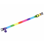 Rainbow Cat and Small Dogs Collar