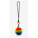 Rainbow Ball Phone Strap